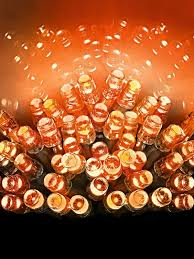 Amber Christmas Lights Buy 200 Led Multi Action Supabrights Christmas Lights Orange