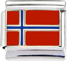 Norweigan Flag Flags Enamel