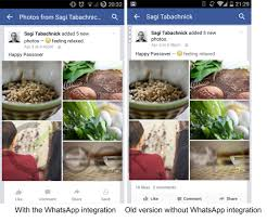 application cuisine android decides to integrate whatsapp into its android application