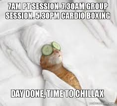 Boxing Day Meme - 7am pt session 7 30am group session 5 30pm cardio boxing day