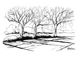 how to sketch snow and trees wetcanvas