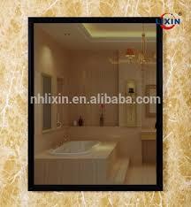 bathroom infinity mirror ce ip44 3d bathroom led infinity mirror buy hot selling lighted