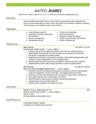 Online Resume Makers Sample Effective Resume Resume Samples For All Professions And