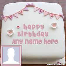 online birthday cake happy birthday cake photo editing online with name