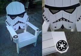 Big Beach Chair Star Wars Storm Trooper Chair Adirondack Chair Yard Furniture