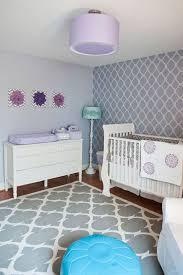 Purple Nursery Decor Purple Baby Nursery Room Decoration