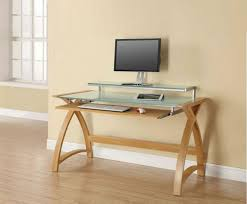Office Desk With Keyboard Tray Oak Home Office Study Computer Desk With Sliding Keyboard Tray