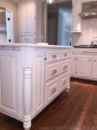 island kitchen cabinets before after kitchen reno with painted cabinets home bunch