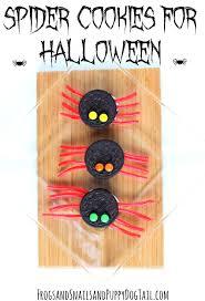 spider cookies for halloween fspdt