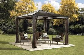 Sun Shelter Gazebo Rona by Ebay Ca 10x10 Hard Top Gazebo With Mosquito Netting 589 99 Can