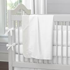 white pique baby crib bedding collection carousel designs