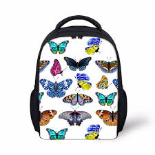 forudesigns 3d printing butterfly backpack for baby kids girls