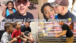 commissary thanksgiving hours video games u0026 commissary shenanigans family
