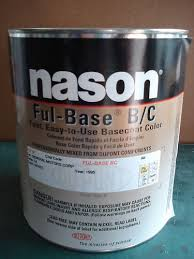 auto body paint nason dupont fleet white basecoat clear ebay