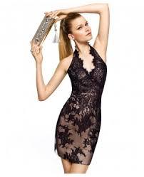 black lace halter dress in tonystarxreader by mewmewgirl123 on