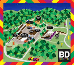 Festival Map Bd Festival Map U2013 The Last Mixed Tape