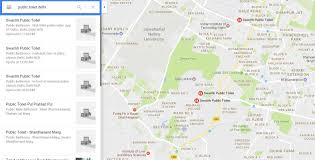 Public Bathrooms In India Google Introduces Public Toilet Locator In India Technology