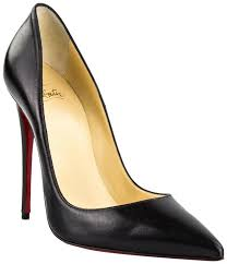 christian louboutin black so kate 120 nappa shiny leather pumps