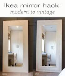 Vintage Mirrors For Bathrooms - how to build a trumeau mirror rustic style room and craft