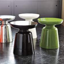 west elm round side table and funky side tables