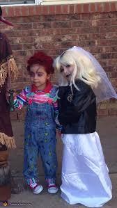 Chucky Halloween Costume Toddler Chucky Tiffany Bride Costume Photo 2 5