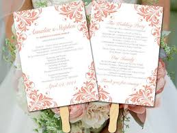 Diy Wedding Ceremony Program Fans Best 25 Diy Wedding Fans Ideas On Pinterest Diy Wedding Program