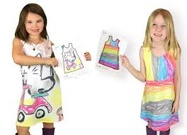 design pattern of dress this company lets kids design their own clothes bored panda
