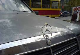 mercedes ornament