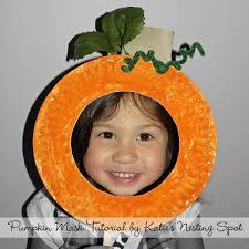 pumpkin paper plate craft for kids fall halloween pinterest