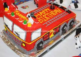firetruck cake coolest truck cake design