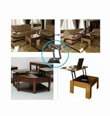 lift up coffee table mechanism with spring assist design hydraulic table lifting mechanism spring assist pop up coffee