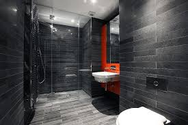 black and gray bathroom ideas trendy bathrooms that combine gray and color in sensational style