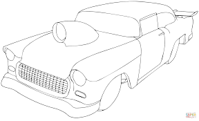 1955 chevy pro sportsman coloring page free printable coloring pages