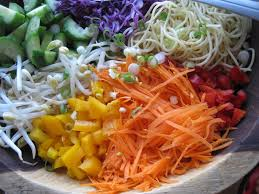 rice noodle salad recipe chicken food for health recipes