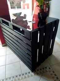 Stand Up Reception Desk Pallet Made Reception Desk 99 Pallets