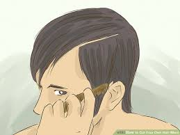 haircut back of head men how to cut your own hair men 13 steps with pictures wikihow