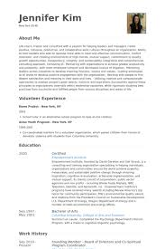 Volunteering Resume Sample by Board Of Directors Resume Samples Visualcv Resume Samples Database