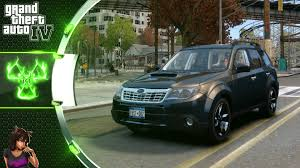 subaru green forester subaru forester 2008 xt gta 4 car mod youtube