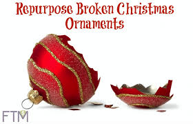 repurpose broken christmas ornaments jpg