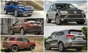 Most Interior Space Suv Right Sized Every Mid Size Crossover And Suv Ranked From Worst To