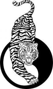 tiger and yin yang from itattooz