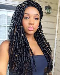 pictures of soft dred crotchet hairstyles nubian goddess crochet faux locs bundle deals goddess braids