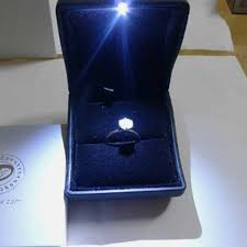 engagement ring boxes that light up light up rings lovely light up engagement ring box odd ts