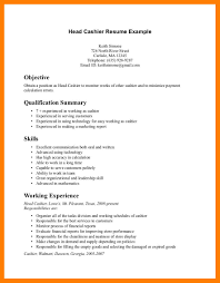 Resume Template Cashier Cashier On Resume Duties Ideas 100 Resumes For Cashiers Office