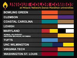 Pretty Colors Dance Marathon Celebrates College Colors Day U2013 Miracle Network