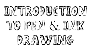 pen u0026 ink drawing tutorials introduction to pen and ink drawing