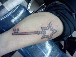 skeleton key tattoo