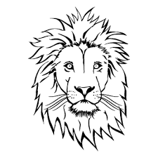 lion face stencil free download clip art free clip art on