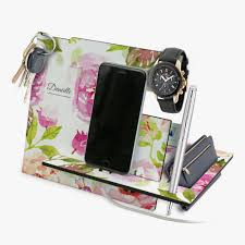 Personalized Desk Organizer Custom Jewelry Midnight Garden Desk Organizer Shop Now