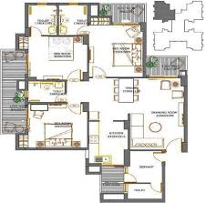 1800 Square Feet House Plans by 3 Bhk House Plan In 1800 Sq Ft Arts